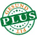 Gesund plus Fit-Logo