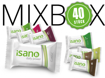 40iger iSANO Snack-Mix Box